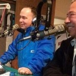 "NESN's Don Orsillo, Jerry ""RemDawg"" Remy and Jenny Dell in studio on WHOM Mornings w/ Sandra and Teddy"