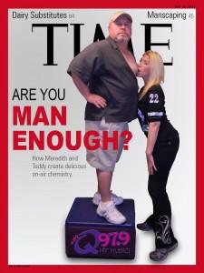 TIME MAGAZINE COVER - Teddy McKay